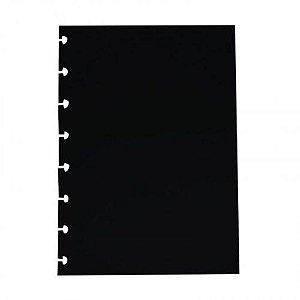 Bloco Refil A5 Color Plus Preto 180g Com 10 Folhas - Cira2009 - Caderno Inteligente