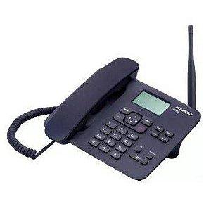 TELEFONE CELULAR RURAL/URBANO QUAD 2CHIP AQUARIO CA-42S
