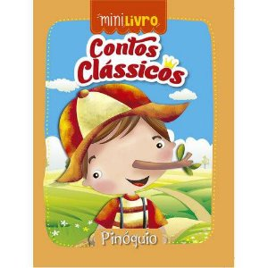 MINI LIVRO CONTOS CLASSICOS PINOQUIO (CIRANDA CULTURAL)