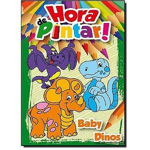 LIVRO HORA DE PINTAR-BABY DINOS(BICHO ESPERTO)