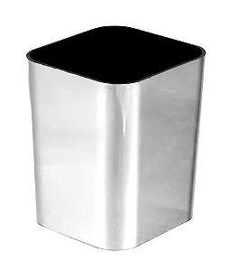 Porta Objetos Metalizado Prata - 3029.o - Dello