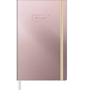 Caderneta Quadriculada West Village Metalizada 80 Folhas Tilibra