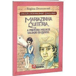 LIVRO MARIA QUITERIA PERSONALIDADES BRASILEIRAS BICHO ESPERTO
