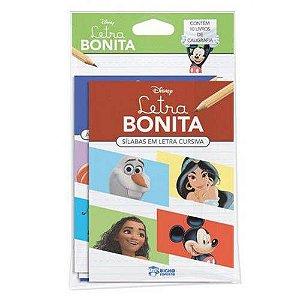 LIVRO DISNEY CALIGRAFIA SOLAPA MEDIA-LETRA BONITA (BICHO ESPERTO)