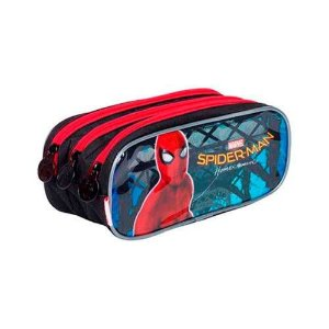 ESTOJO ESCOLAR TRIPLO SPIDERMAN 18Z (SESTINI)
