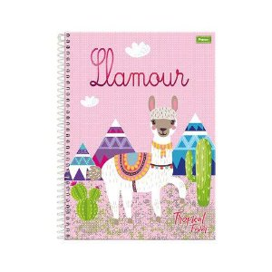 CADERNO CD UNV 10MAT TROPICAL FEVER (FORONI)