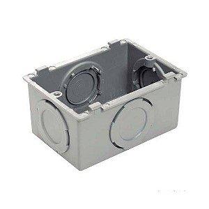 CONDULETE MULTIPLA X 4X2 CINZA UN PLASTIBOX 57250/011