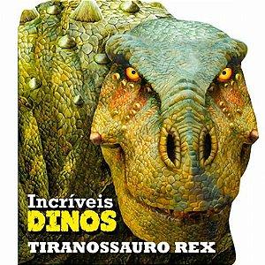 LIVRO CD TIRANOSSAURO REX INCRIVEIS DINOS (CIRANDA CULTURAL)