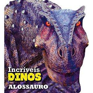 LIVRO CD ALOSSAURO INCRIVEIS DINOS (CIRANDA CULTURAL)