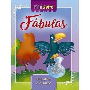 MINI LIVRO FABULAS O CORVO E O JARRO (CIRANDA CULTURAL)