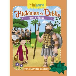 MINI LIVRO HISTORIAS DA BIBLIA DAVI E GOLIAS (CIRANDA CULTURAL)