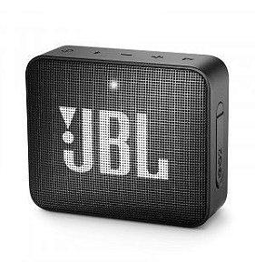 CAIXA SOM BLUETOOTH JBL GO 2 PRETO IPX7