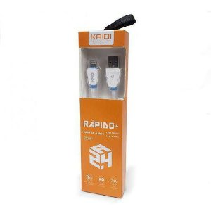 CABO USB IPHONE USB-MACHO X MICRO-MACHO  KAIDI  KD-319A