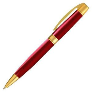 CANETA CROWN MASTER GOLD VERMELHO (YW19968V)