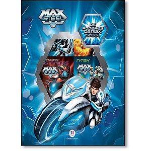 LIVRO BOX MAX STEEL OS PODERES DE MAX STEEL C/ 6 MINILIVROS CIRANDA CULTURAL