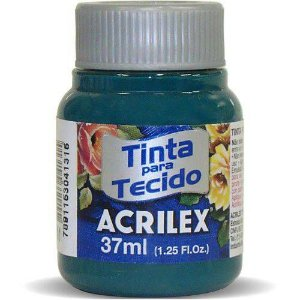 TINTA TECIDO 37ML VERDE BANDEIRA ACRILEX 511