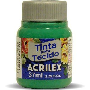 TINTA TECIDO 37ML VERDE VERONESE ACRILEX 512