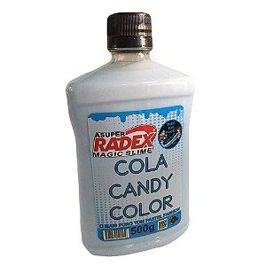 COLA CANDY COLOR PASTEL AZUL (500G)(RADEX) 7824