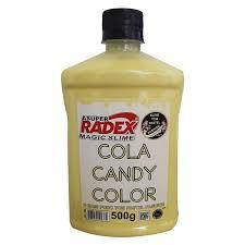 COLA CANDY COLOR PASTEL AMARELO (500G)(RADEX) 7505
