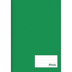 CADERNO BROCHURAO CD 96F VERDE (FORONI)