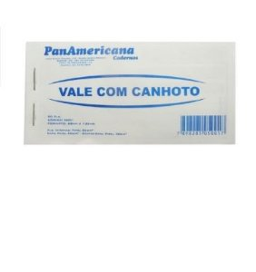 VALE C/ CANHOTO 50F PANAMERICANA