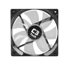 COOLER 120X120X25 12V LED BRANCO C3TECH F7-L100WH