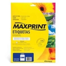 ETIQUETA CD/DVD 25F A4 UN MAXPRINT A4CD25