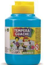 TINTA GUACHE 250ML AZUL CELESTE ACRILEX 503