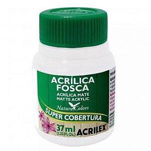 TINTA ACRILICA FOSCA BRANCO 37ML ACRILEX 519