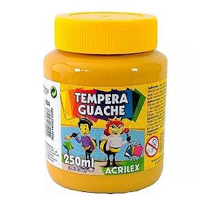 TINTA GUACHE 250ML AMARELO OCRE ACRILEX 564