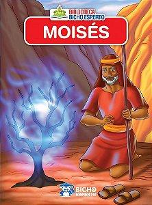 LIVRO MINI BIBLICO MOISES BICHO ESPERTO