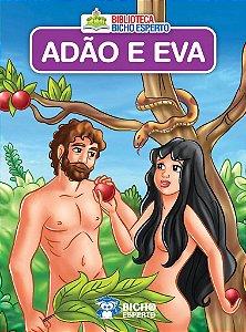 LIVRO MINI BIBLICO ADAO E EVA BICHO ESPERTO