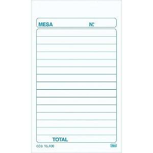 PEDIDO DE MESA 2 VIAS 100F 76X128 TILIBRA