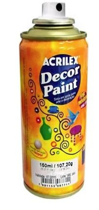 TINTA SPRAY COBRE DECOR PAINT 150ML ACRILEX 534