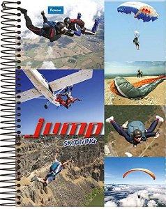 CADERNO CD UNV 12MAT JUMP  FORONI
