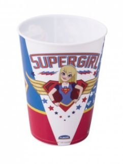 COPO HERO GIRLS PLASTICO 320ML PLASUTIL 8150