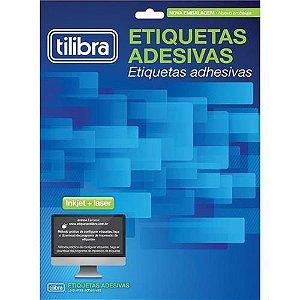 ETIQUETA ADESIVA 25,4X66,7 10F TILIBRA CX/1