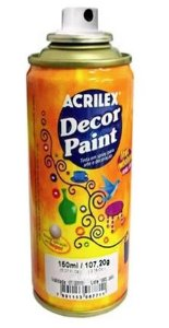 TINTA SPRAY AZUL DECOR PAINT 150ML ACRILEX 521