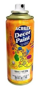 TINTA SPRAY VERDE DECOR PAINT 150ML ACRILEX 524