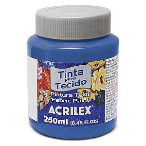 TINTA TECIDO FOSCA 250ML AZUL COBALTO ACRILEX 502