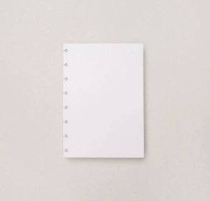 REFIL FOLHAS A5 FOTOGRAFICO 180G CADERNO INTELIGENTES CIRA2011