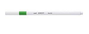 CANETA 0.4MM EMOTT VERDE ESC (UNI BALL)