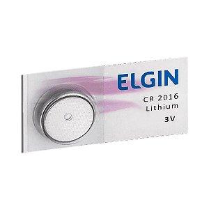 BATERIA 3V (CR2016)(ELGIN)(82191)