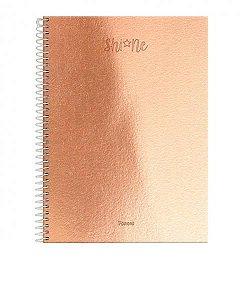 CADERNO CD ESPIRAL 1/4 80F SHINE (FORONI)