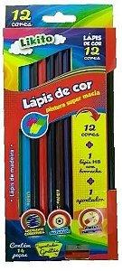 LAPIS DE COR 12 CORES+LAPIS+APONT LYKE