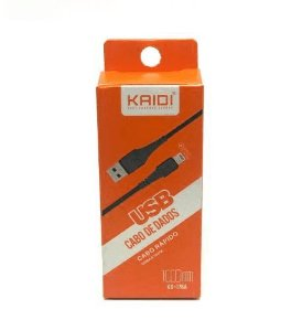 CABO USB APPLE (1 MT)(KAIDI)(KD-176A)