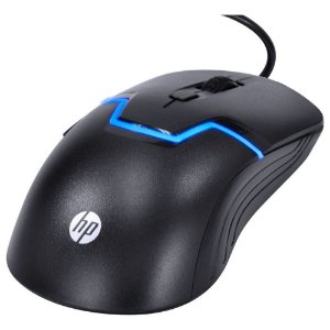 MOUSE USB GAMER 3200 DPi (PRETO)(HP)(M100S)