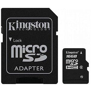 CARTAO DE MEMORIA  16 GB (CL. 4)(KINGSTON)