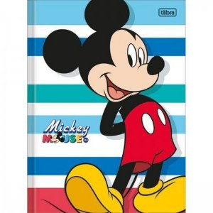 CADERNO BROCHURAO CD 80F MICKEY (TILIBRA)