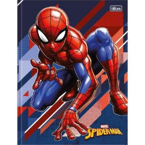 CADERNO BROCHURAO CD 80F SPIDER MAN (TILIBRA)